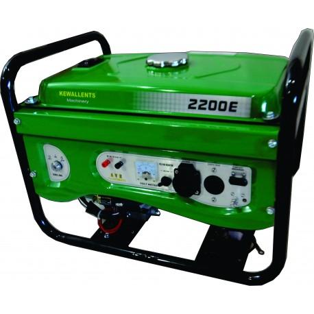 Gerador 2,2 kvas kwg2200E PE kewallents Partida Elétrica
