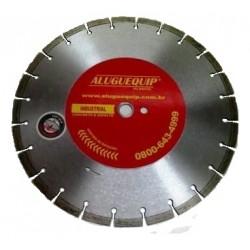 Disco Diamantado 350 mm Vermelho Aluguequip