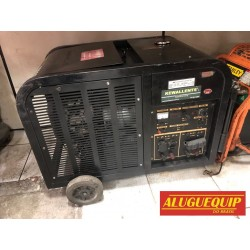 Gerador 10 kva 220v partida elétrica