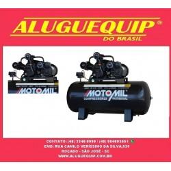 Compressor de Ar Profissional 15 Pés 3,0HP 175 LitrosMono - motomill-CMW15/175